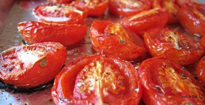 печеные помидоры для супа-пюре