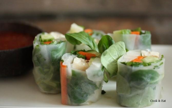 овощные спрингроллы