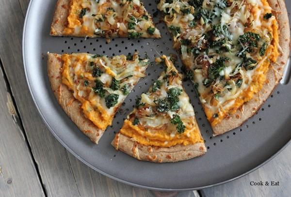 Флетбрэд или мини-пицца