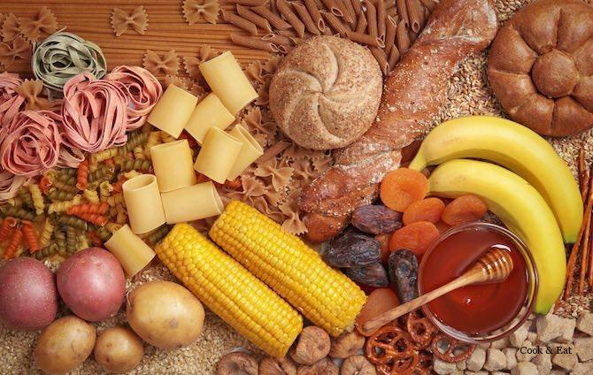 продукты содержащие углеводы